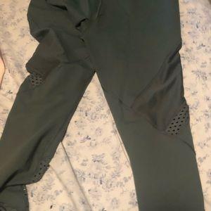 Lorna Jane mint green pants